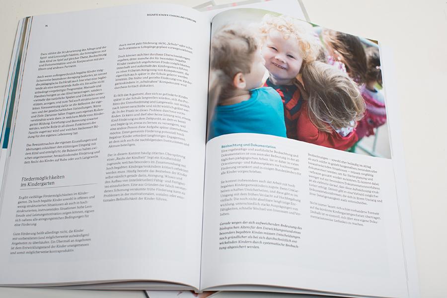Broschüre BEGABTE KINDER FINDEN UND FÖRDERN des BUNDESMINISTERIUMS FÜR BILDUNG UND FORSCHUNG