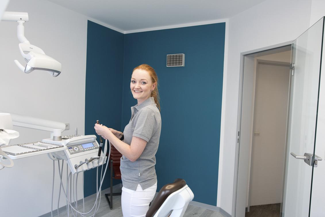 Imagefotos für die Zahnarztpraxis, Zahnteam Selm